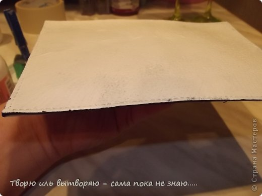 Декор предметов Декупаж Глаза боятся - руки делают  Кожа фото 11