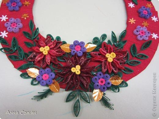 Коллективная работа Новый год Бумагопластика Квиллинг Итоги конкурса Рождественская звезда Бумажные полосы фото 5