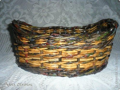 Поделка изделие Плетение Плетеночки Трубочки бумажные фото 6