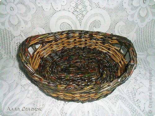 Поделка изделие Плетение Плетеночки Трубочки бумажные фото 7