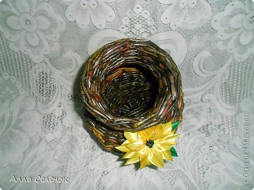 Поделка изделие Плетение Плетеночки Трубочки бумажные фото 13