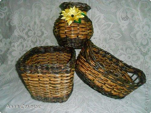 Поделка изделие Плетение Плетеночки Трубочки бумажные фото 17