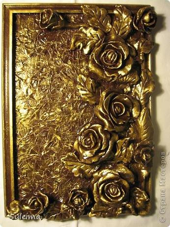 Картина панно рисунок Мастер-класс Лепка Панно под бронзу соленое тесто Тесто соленое фото 30
