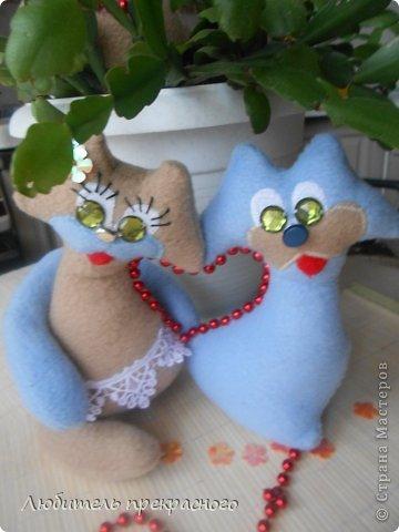 Мастер-класс Поделка изделие Валентинов день Шитьё Для любимых с любовью Бусинки Кружево Нитки Пайетки Ткань фото 1