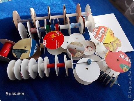 Мастер-класс Материалы и инструменты Моделирование конструирование Катушки-бобинки для хранения ленточек и тесьмы своими руками Материал бросовый фото 1