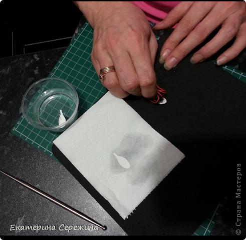 Мастер-класс Открытка Бумагопластика Подснежник из бумаги Бумага фото 7