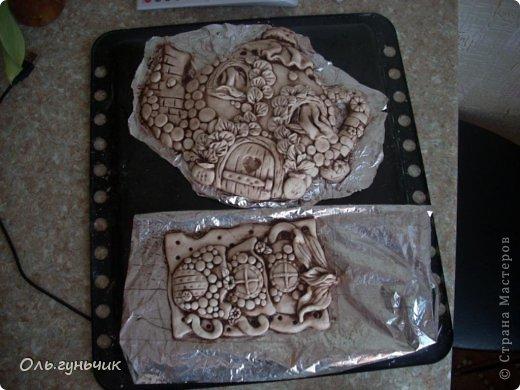 Мастер-класс Поделка изделие Лепка Чайник с чашечками Тесто соленое фото 17