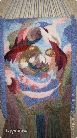 Мастер-класс Вышивка ковровая Объемный гобелен МК Пряжа фото 1