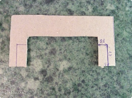 Мастер-класс Поделка изделие Декупаж Моделирование конструирование Колодец в стиле шебби шик Картон Краска Салфетки фото 12