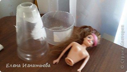 Мастер-класс Поделка изделие Моделирование конструирование Моя леди - как я ее делала  Бусинки Бутылки пластиковые Кофе Кружево Шпагат фото 7