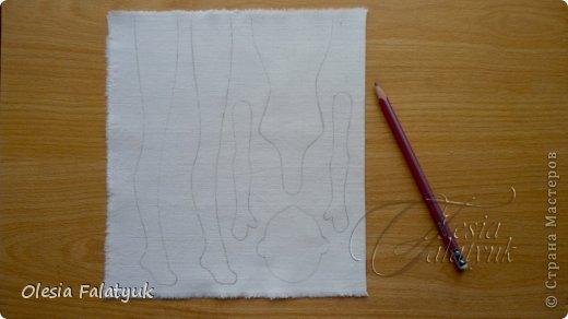 Куклы Мастер-класс Шитьё Первый МК по созданию куклы Darina + Выкройка  Ткань фото 4
