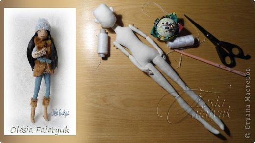 Куклы Мастер-класс Шитьё Первый МК по созданию куклы Darina + Выкройка  Ткань фото 80