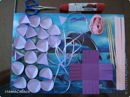 Мастер-класс Поделка изделие Бумагопластика Моделирование конструирование МК - воздушный шар из бумаги Бумага фото 2