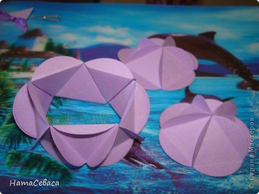 Мастер-класс Поделка изделие Бумагопластика Моделирование конструирование МК - воздушный шар из бумаги Бумага фото 7
