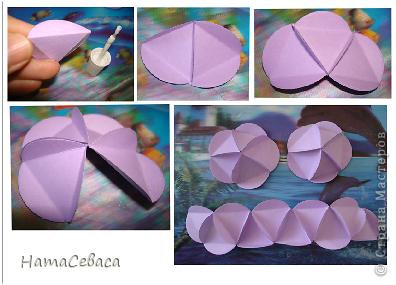 Мастер-класс Поделка изделие Бумагопластика Моделирование конструирование МК - воздушный шар из бумаги Бумага фото 6