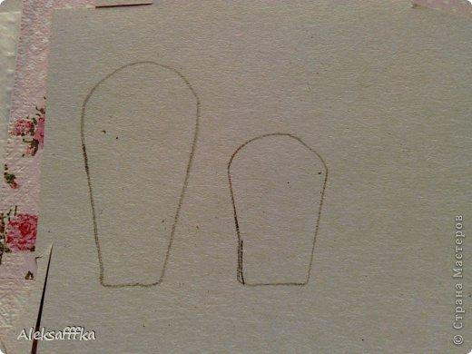 Мастер-класс Поделка изделие Пасха Моделирование конструирование простая корзиночка для пасхального яичка  МК Бумага Картон фото 3