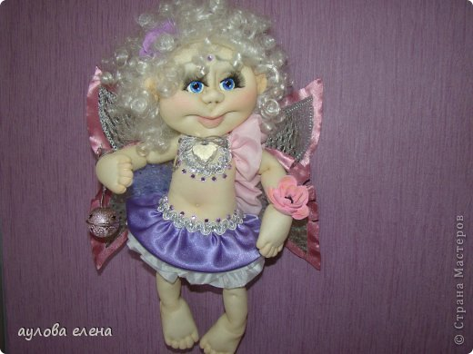 Куклы Шитьё Ангелочек Сутаж тесьма шнур Ткань фото 2