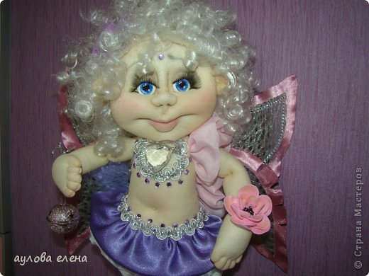 Куклы Шитьё Ангелочек Сутаж тесьма шнур Ткань фото 1