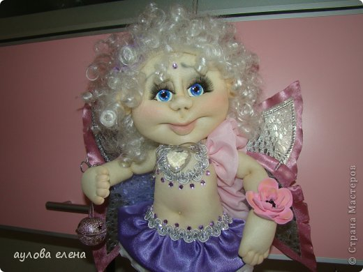 Куклы Шитьё Ангелочек Сутаж тесьма шнур Ткань фото 3