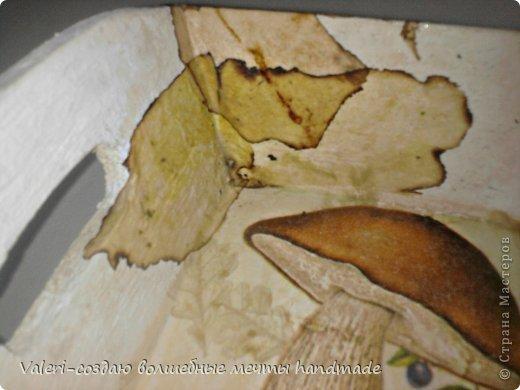 Декор предметов Мастер-класс Декупаж МК Ложный мрамор Клей Краска Салфетки Спички Чай фото 11