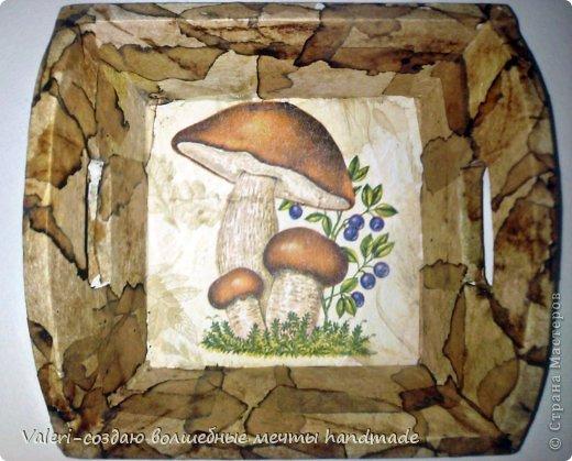 Декор предметов Мастер-класс Декупаж МК Ложный мрамор Клей Краска Салфетки Спички Чай фото 13