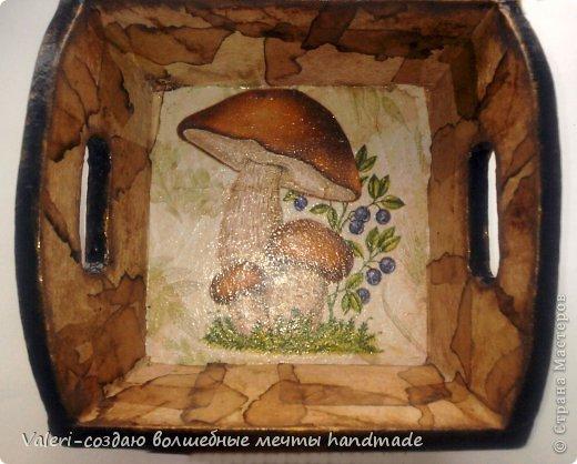 Декор предметов Мастер-класс Декупаж МК Ложный мрамор Клей Краска Салфетки Спички Чай фото 19