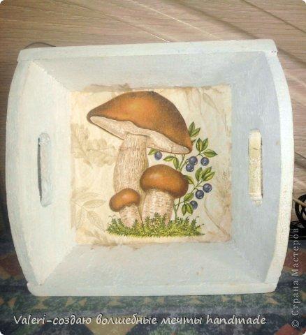 Декор предметов Мастер-класс Декупаж МК Ложный мрамор Клей Краска Салфетки Спички Чай фото 8