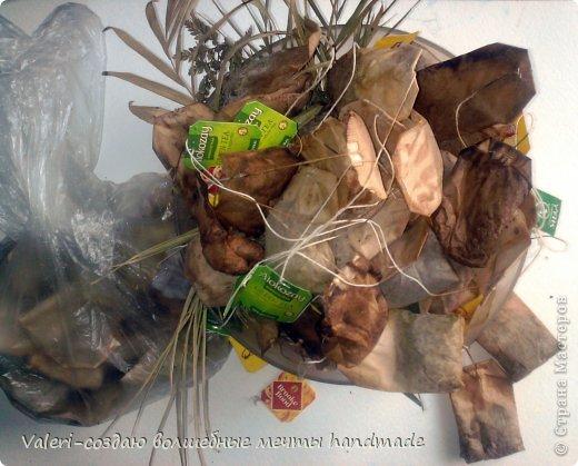 Декор предметов Мастер-класс Декупаж МК Ложный мрамор Клей Краска Салфетки Спички Чай фото 2