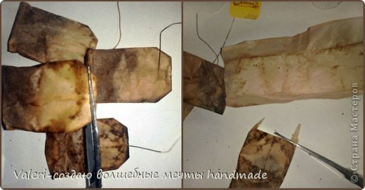 Декор предметов Мастер-класс Декупаж МК Ложный мрамор Клей Краска Салфетки Спички Чай фото 3