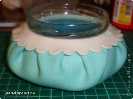 Мастер-класс Флористика Лепка Шкатулка с анютками Фарфор холодный фото 11