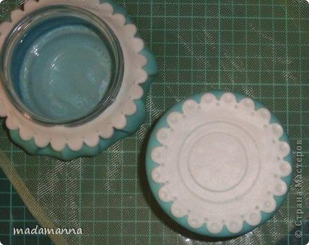 Мастер-класс Флористика Лепка Шкатулка с анютками Фарфор холодный фото 12