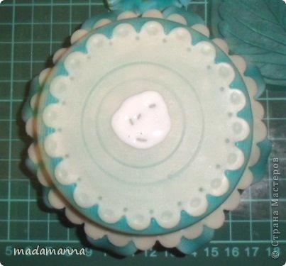 Мастер-класс Флористика Лепка Шкатулка с анютками Фарфор холодный фото 13