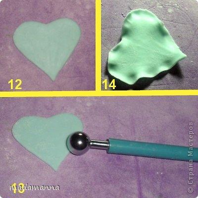 Мастер-класс Поделка изделие Лепка Шкатулка с анютиными глазками Часть2 Цветы Фарфор холодный фото 5