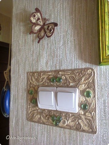 Интерьер Мастер-класс Поделка изделие Аппликация МК Филигранной бабочки Шпагат фото 25