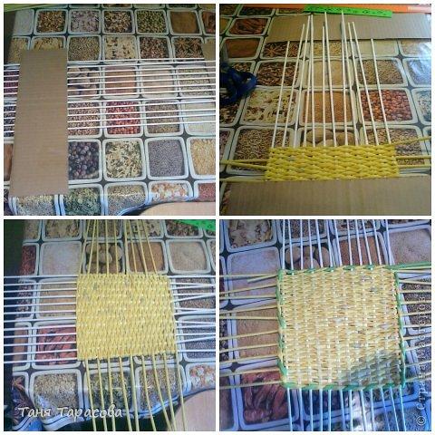 Мастер-класс Поделка изделие Плетение Плетеная шкатулка и МК узора Бумага газетная фото 2