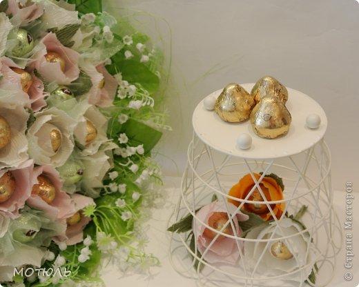 Мастер-класс Свит-дизайн День рождения Моделирование конструирование Волшебство жасмина  мк цветка Бумага гофрированная фото 1