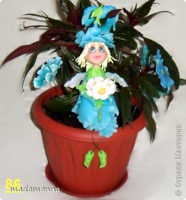 Куклы Мастер-класс Лепка Цветочная фея МК Фарфор холодный фото 31