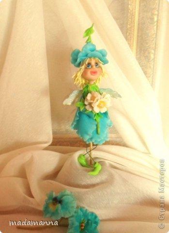 Куклы Мастер-класс Лепка Цветочная фея МК Фарфор холодный фото 1