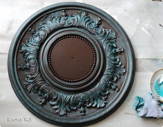 Декор предметов Мастер-класс Роспись Старинные часы или Антикварная лавка Краска фото 5