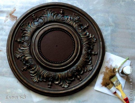 Декор предметов Мастер-класс Роспись Старинные часы или Антикварная лавка Краска фото 7