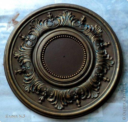 Декор предметов Мастер-класс Роспись Старинные часы или Антикварная лавка Краска фото 9