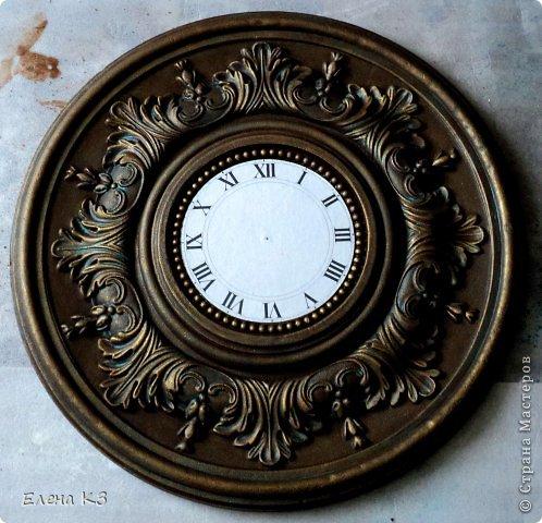 Декор предметов Мастер-класс Роспись Старинные часы или Антикварная лавка Краска фото 11