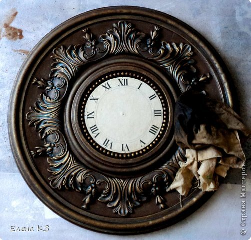 Декор предметов Мастер-класс Роспись Старинные часы или Антикварная лавка Краска фото 12