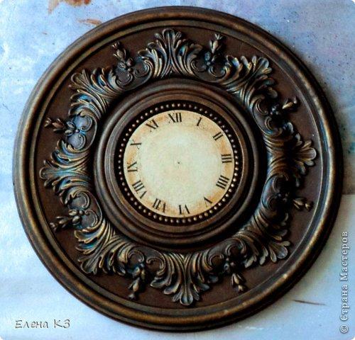 Декор предметов Мастер-класс Роспись Старинные часы или Антикварная лавка Краска фото 13