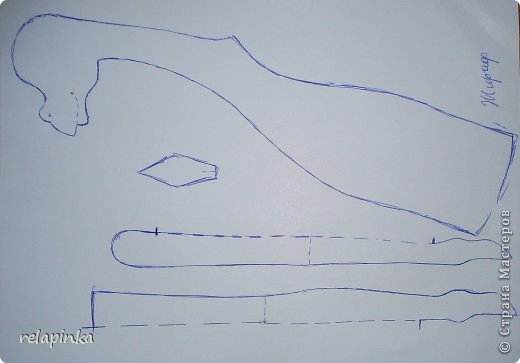 Игрушка Шитьё Жирафа+фото процесса Ткань фото 2