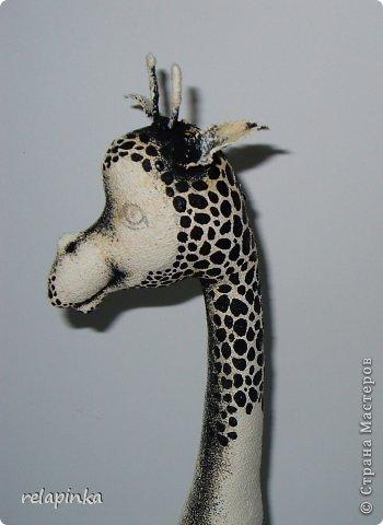 Игрушка Шитьё Жирафа+фото процесса Ткань фото 8