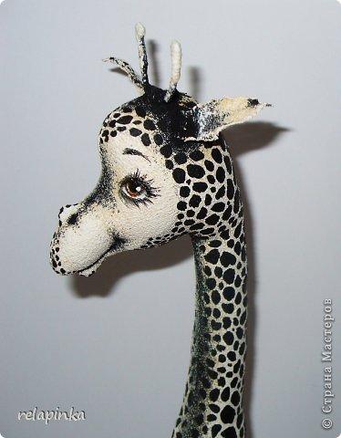 Игрушка Шитьё Жирафа+фото процесса Ткань фото 9