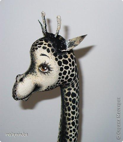 Игрушка Шитьё Жирафа+фото процесса Ткань фото 10