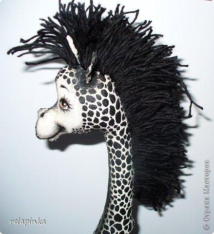 Игрушка Шитьё Жирафа+фото процесса Ткань фото 16