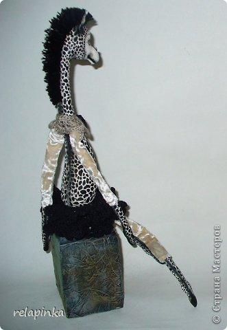 Игрушка Шитьё Жирафа+фото процесса Ткань фото 26
